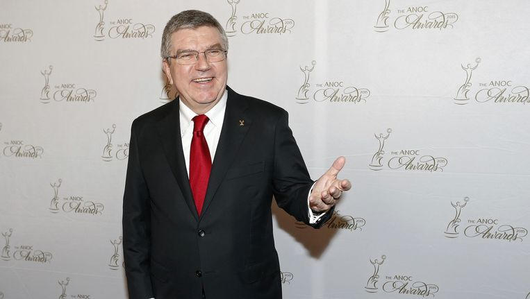 IOC-voorzitter Thomas Bach Beeld reuters