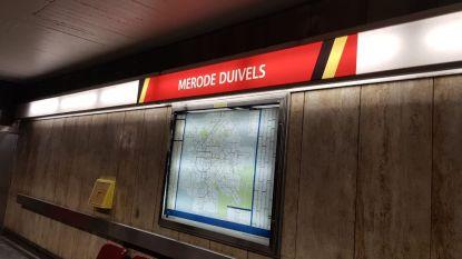 Brusselse metrostations krijgen nieuwe naam na overwinning tegen Brazilië