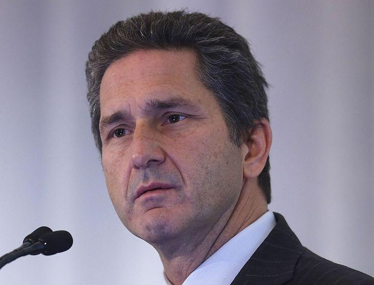 Volgens Mike Fries, de baas van Ziggo-moeder Liberty Global, zal de nieuwe combinatie 'enorme voordelen opleveren voor de Nederlandse consumenten en bedrijven'. Beeld reuters