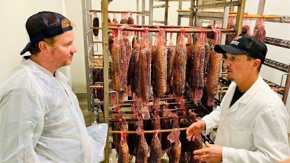 Jilles serveert burgers met West-Vlaams Rood rundvlees van topslagerij Dierendonck op Grote Markt