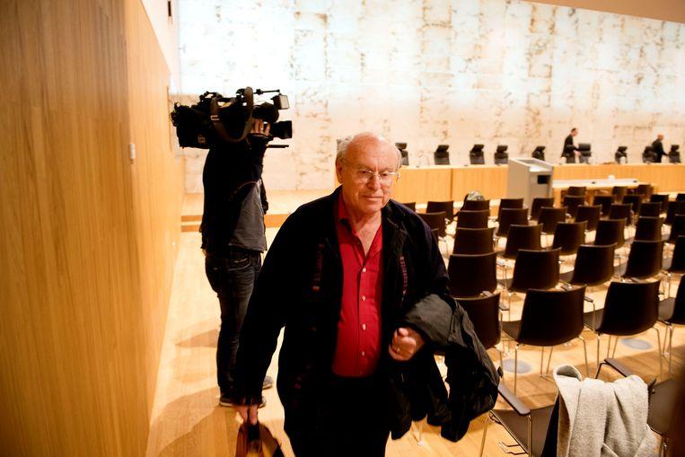 Albert Heringa vorig jaar, vlak nadat de Hoge Raad zijn zaak terugverwees naar het Gerechtshof in Den Bosch. Beeld ANP