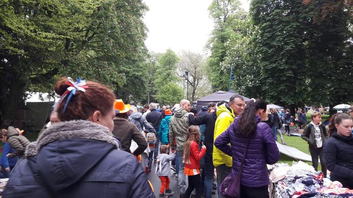 Park Valkenberg stroomt vol.