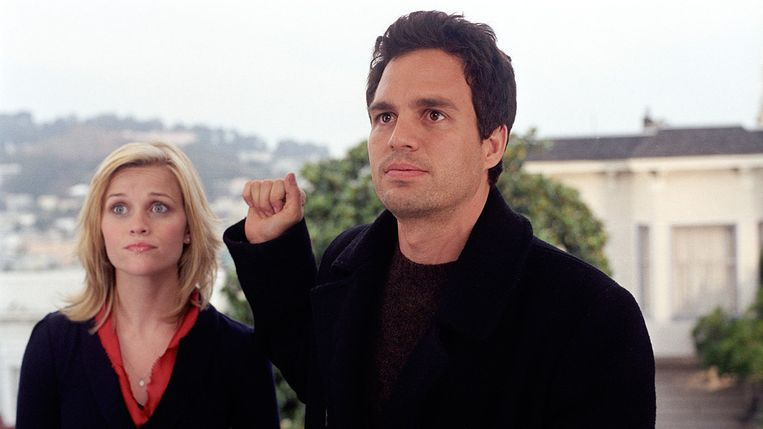 Reese Witherspoon en Mark Ruffalo in Just Like Heaven Beeld null