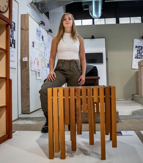 Veldhovense Hanna Savenije (26) met eerste ontwerp op DDW