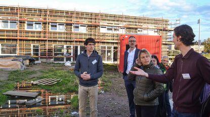 Minister Schauvliege op bezoek bij Cohousing Waasland