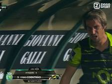 Coentrão woedend na gelijkmaker Setúbal in 96ste minuut