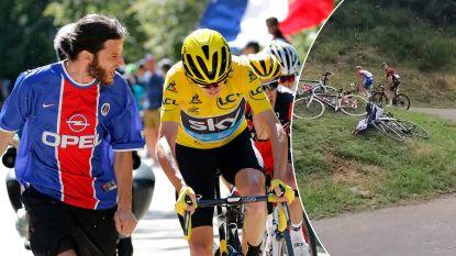 Urinedouches, bijna van de fiets geduwd en op training van de weg gemaaid: hoe Chris Froome al jaren persona non grata is op de Franse wegen