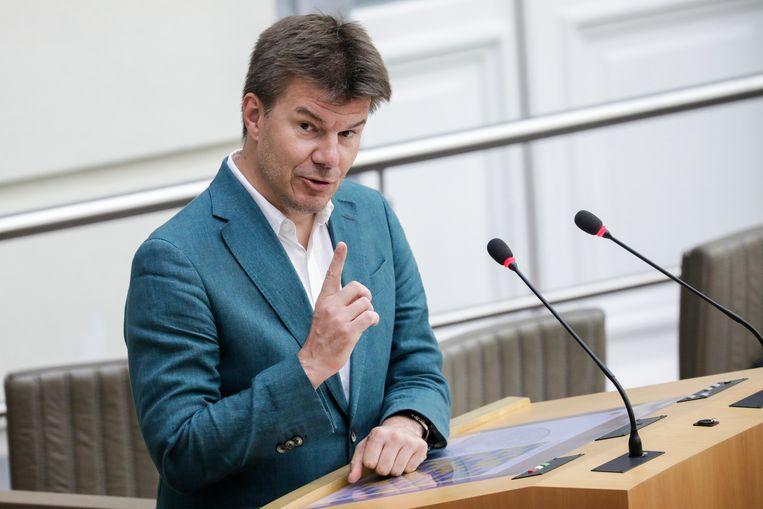 Minister Sven Gatz.