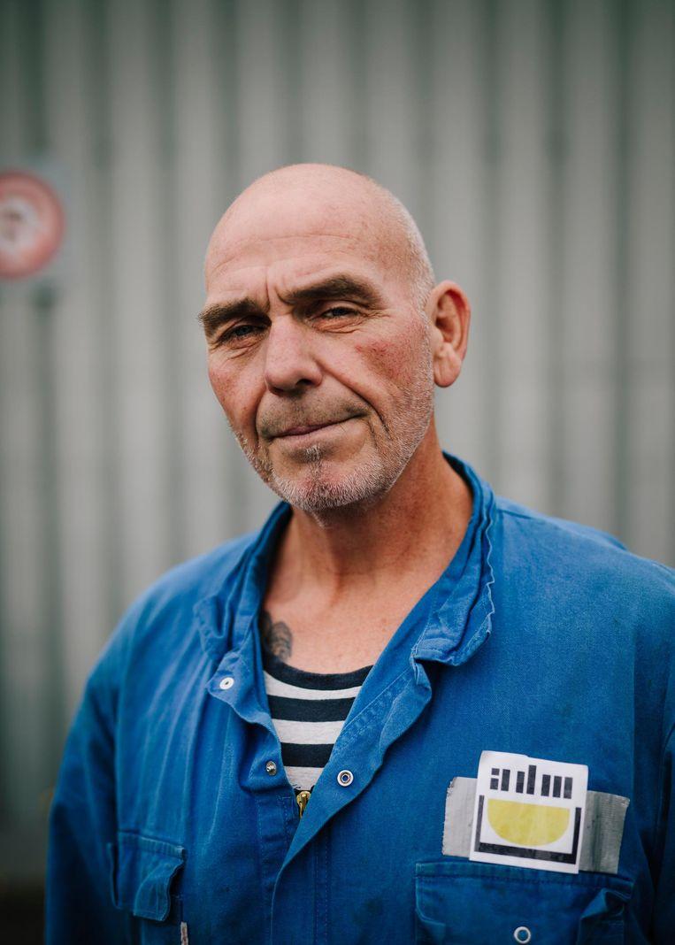 Rob Spelde: 'Ik zou eigenlijk alleen Gerben doen, maar de man die Marinus speelt, moest worden geopereerd aan zijn stembanden.' Beeld Marc Driessen