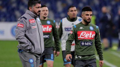 LIVE. Dramatische start voor kersvers Napoli-coach Gattuso, die Mertens op de bank zet