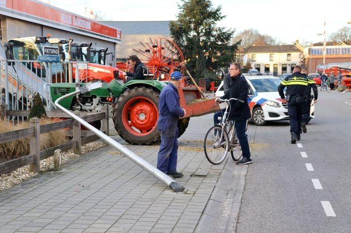 Ongeval in Ootmarsum, waarbij ook een traumahelikopter is opgeroepen