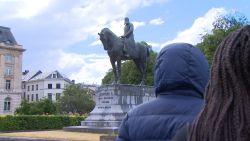 Deze tieners willen standbeelden Leopold II in Brussel laten verwijderen