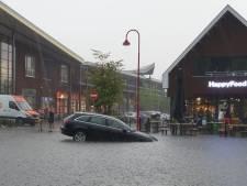 Zo trok het noodweer over Gelderland, nog steeds code oranje voor extreme hitte en pittige buien