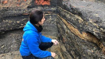 Sporen uit middeleeuwen gevonden onder The Philo