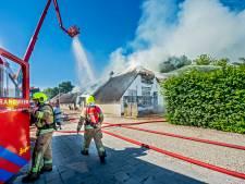 Politie na brand Johannahoeve: 'We sluiten brandstichting niet uit'