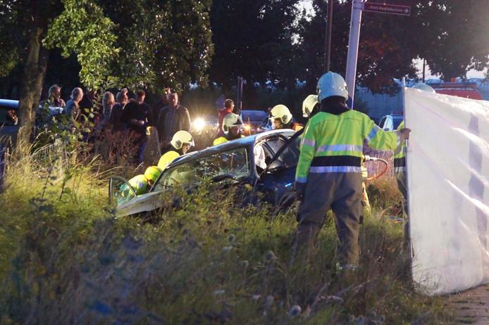 Meerdere gewonden bij frontale botsing in Hedikhuizen