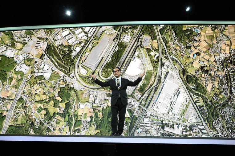 Akio Toyoda noemt 'zijn stad' Woven City.