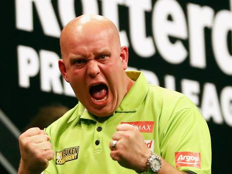 Van Gerwen morgen niet in Premier League