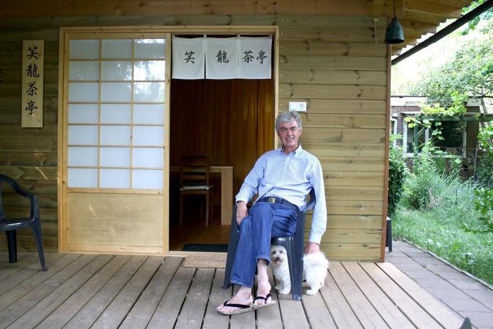 Mark Sterke in de bamboetuin