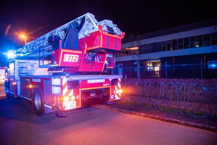 Bij Tabacco Twist in Wetteren brak zaterdagnacht een brandje uit.