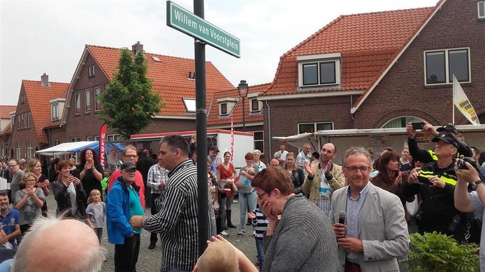 Wijk eert 'Mr. Pathmos' Willem van Voorst met eigen plein.