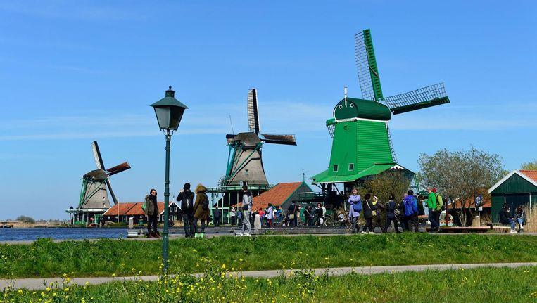 De verwachting is dat de Zaanse Schans groeit naar 3 miljoen bezoekers per jaar Beeld Zaanse Schans