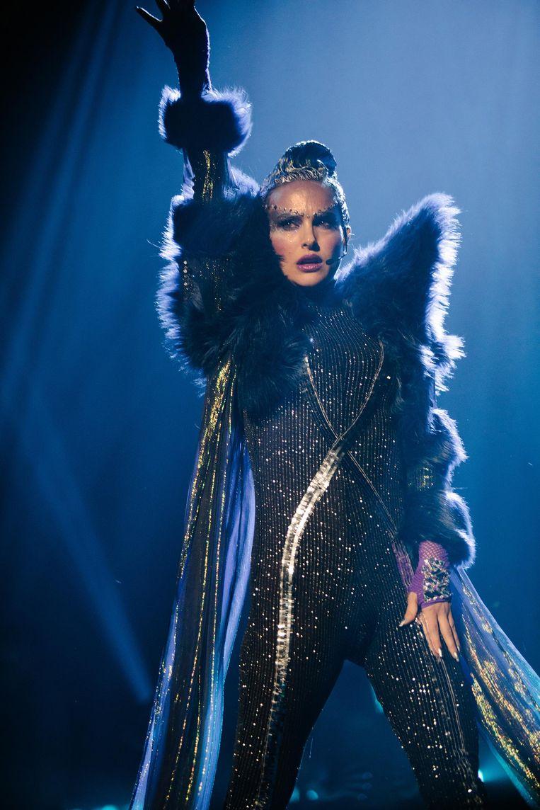 Portman lijkt met haar New Yorkse accent Madonna op de korrel te nemen. Beeld Atsushi Nishijima