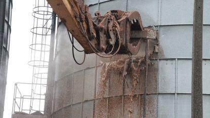 Brandweer blijft ter plaatse bij ruiming ontplofte silo