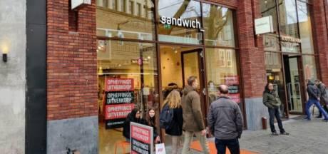 Opnieuw vertrekt kledingwinkel Sandwich uit Enschede