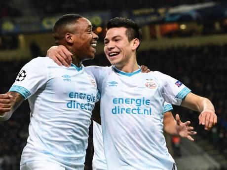 LIVE | PSV leidt bij Inter dankzij kopbal Lozano