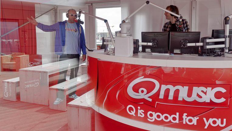Het Foute Uur (Q-Music) maakt kans op de AVRO Gouden Radioring 2012. Beeld ANP
