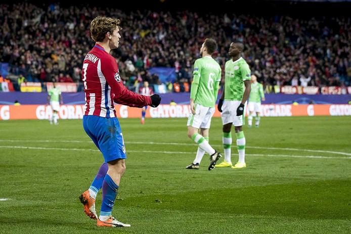 Feest voor Atlético, verdriet voor PSV