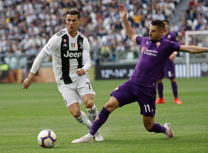 Kevin Mirallas kwam op leenbasis uit voor Fiorentina.
