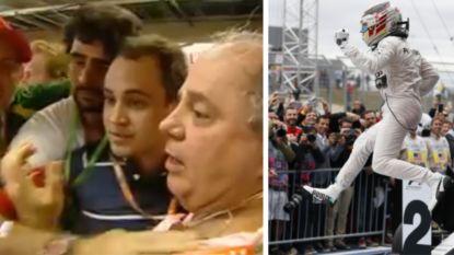 Van woede bij Ferrari na die ene kletsnatte bocht tot een onschuldig tikje: hoe kwamen de vier vorige titels van Hamilton tot stand?