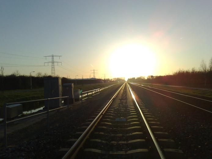 De 137 jaar oude Betuwelijn tussen Herveld en Zetten-Andelst