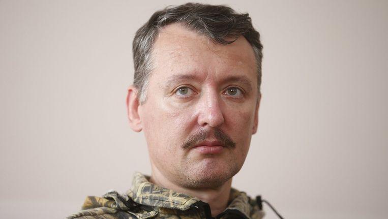 Igor 'Strelkov' Girkin, alias 'Igor de Verschrikkelijke.' Beeld reuters