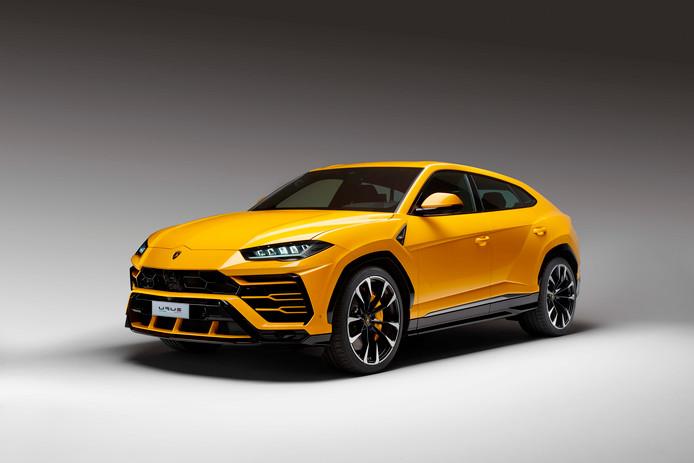 Sportwagenfabrikant Lamborghini presenteerde de SUV vandaag.