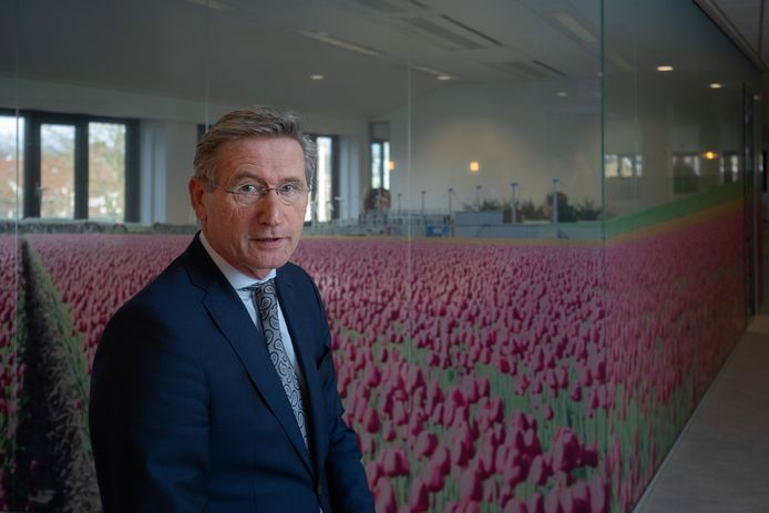 Interim-burgemeester Jan Westmaas van de gemeente Noordoostpolder.