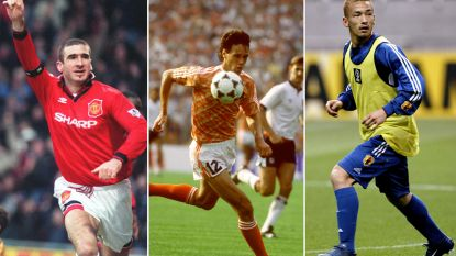 Van Eric Cantona tot Marco van Basten: ook deze (top)spelers gingen ongewoon vroeg op voetbalpensioen
