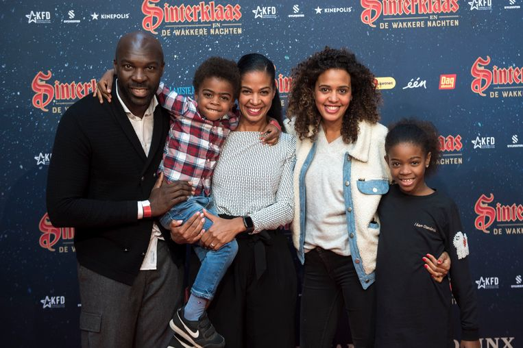 Tatyana Beloy en haar familie.