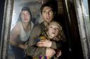 De film War of the Worlds uit 2005, van regisseur Steven Spielberg. Tom Cruise (r) speelt een hoofdrol.