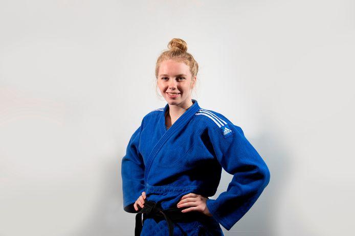 Judoka Hilde Jager.