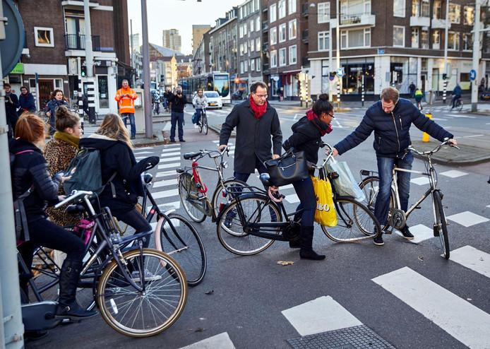 Niet alle plannen om van Rotterdam fietsstad nummer één te maken, waren een succes.