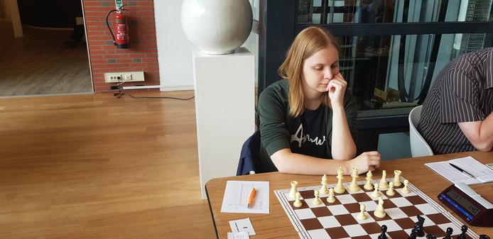 Concentratie tijdens het schaken.
