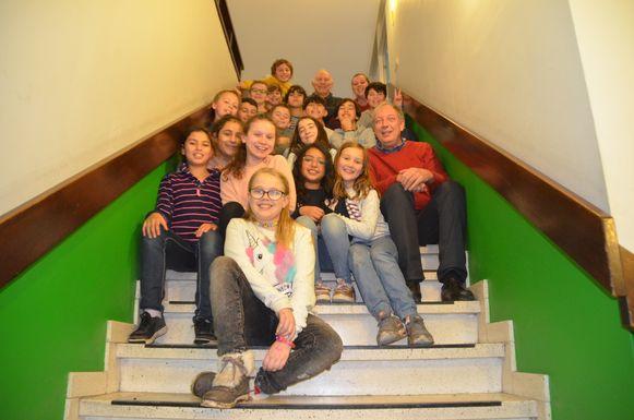 Voor het vijfde leerjaar won de klas van de gemeentelijke basisschool Negensprong in de Borgt.