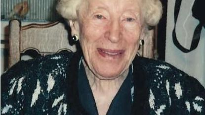 Oudste inwoner Middelkerke Maria Maes (108) overleden