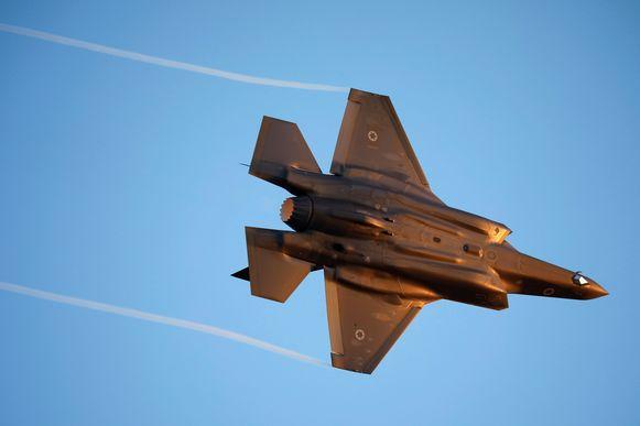 Een F-35 in actie.