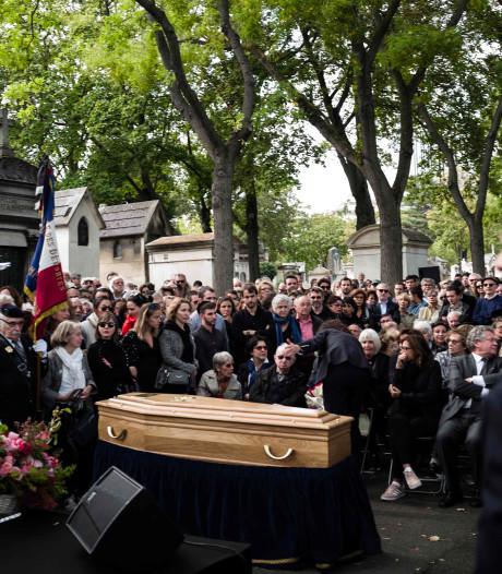 Afscheid in Parijs van de weduwe van Joris Ivens