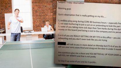 """""""5 of 6 van jullie werken echt op mijn zenuwen"""": baas dreigt 'luie' werknemers af in brute e-mail. Niet iedereen vindt dat hij ongelijk heeft"""