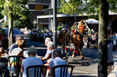 Deelnemers aan de processie van Valkenswaard naar Handel.